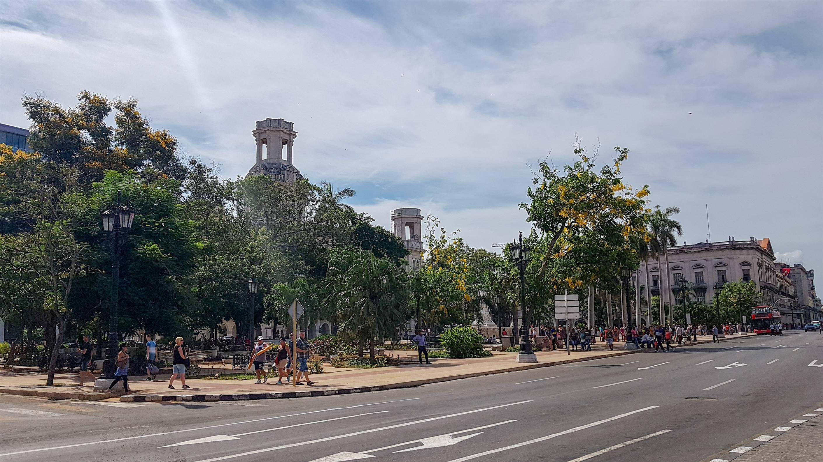 Parque Central - La Havane - CUBA