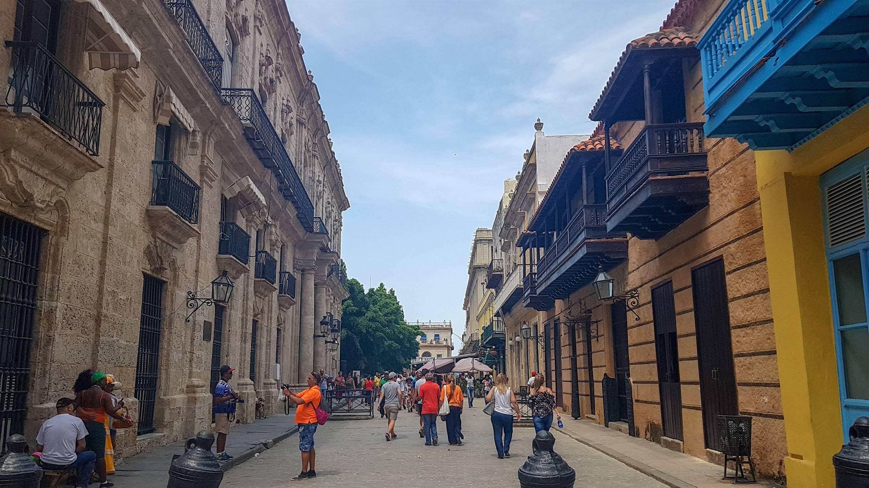 Calle Obispo, La Havane, Cuba