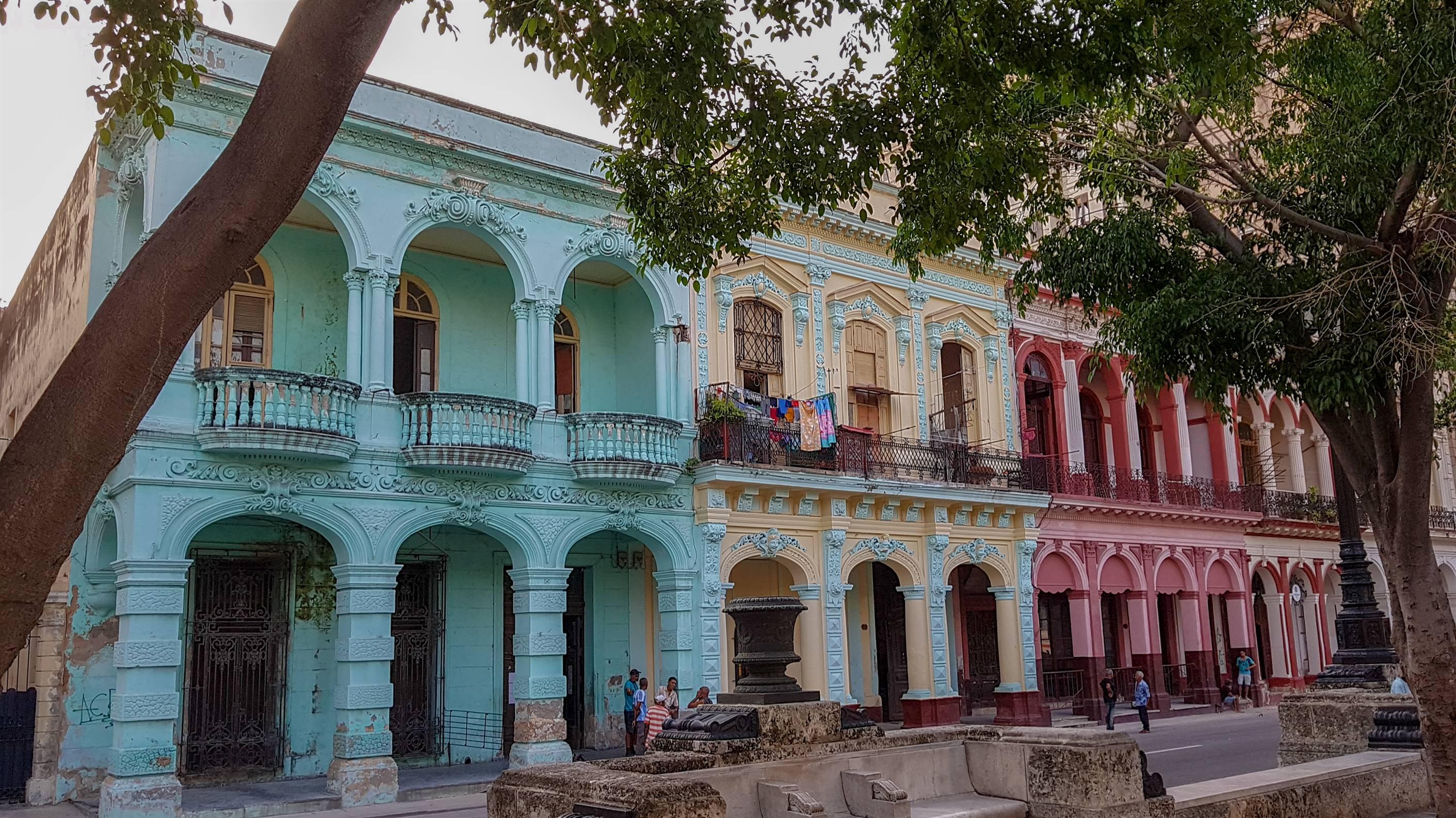 Paseo Jose Marti, La Havane, Cuba