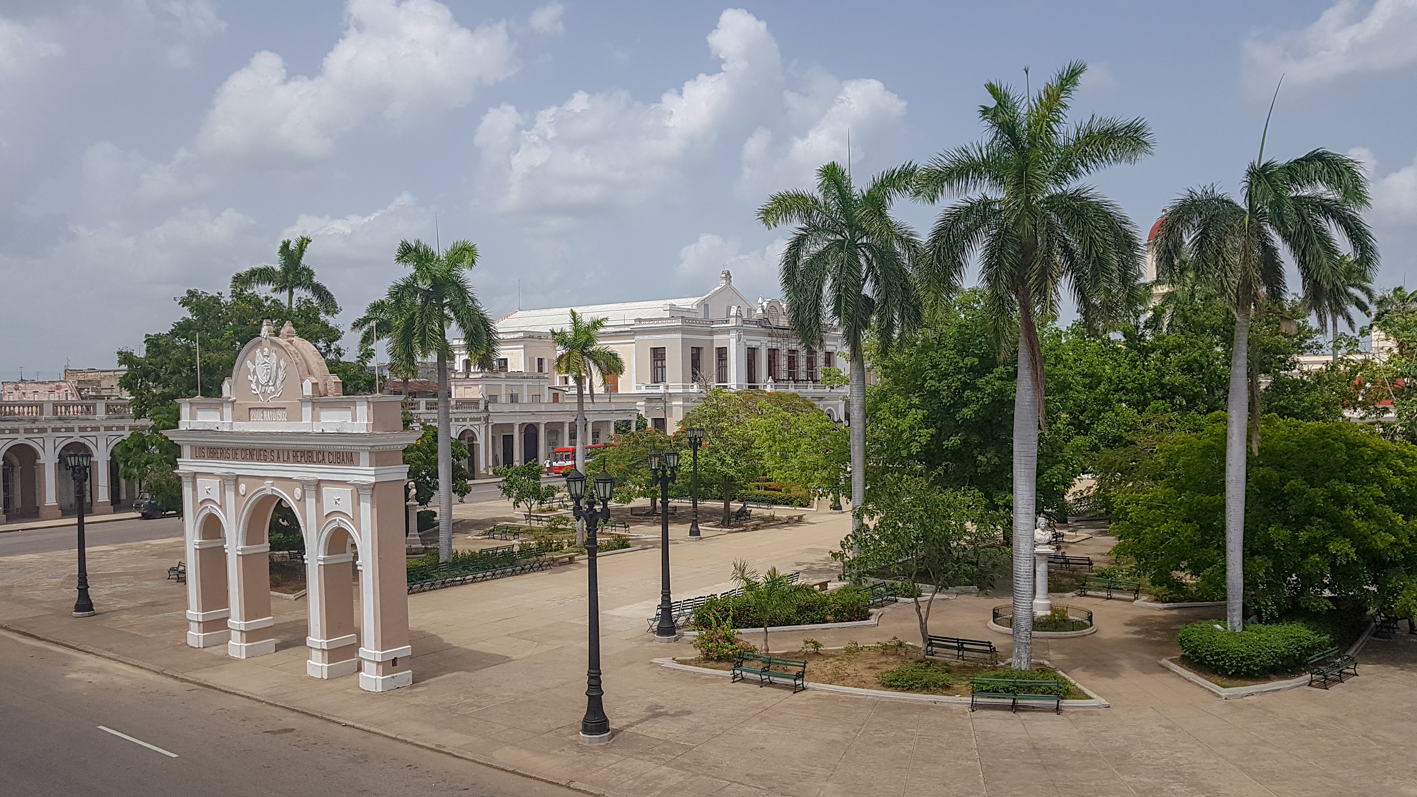 Place Jose Marti, Cienfuegos, Cuba