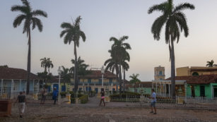 Plazza Mayor, Trinidad, Cuba