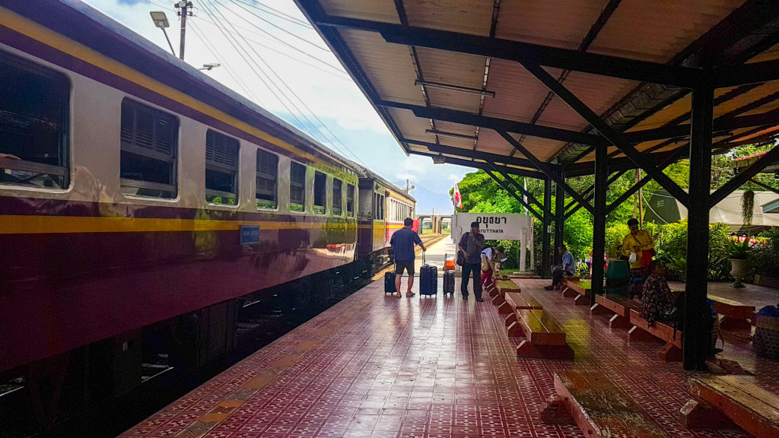 gare d'Ayutthaya, Thaïlande