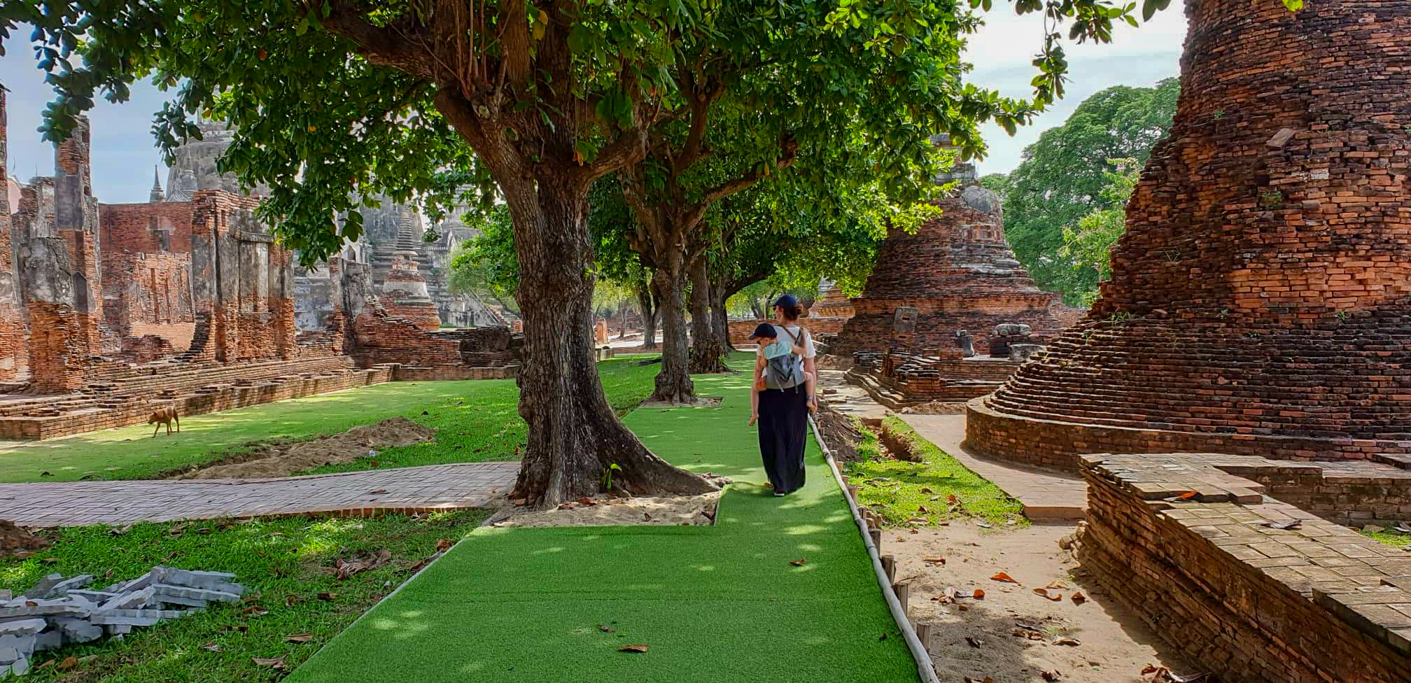 Boba air, porter son enfant en Thaïlande