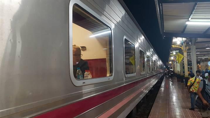 train de nuit Bangkok - Chiang Mai Thaïlande