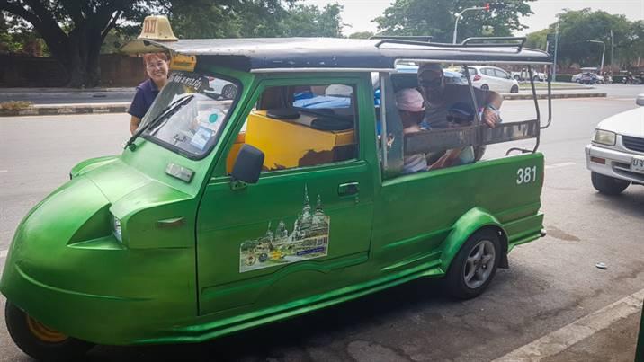 Tuk Tuk Ayutthaya, Thaïlande