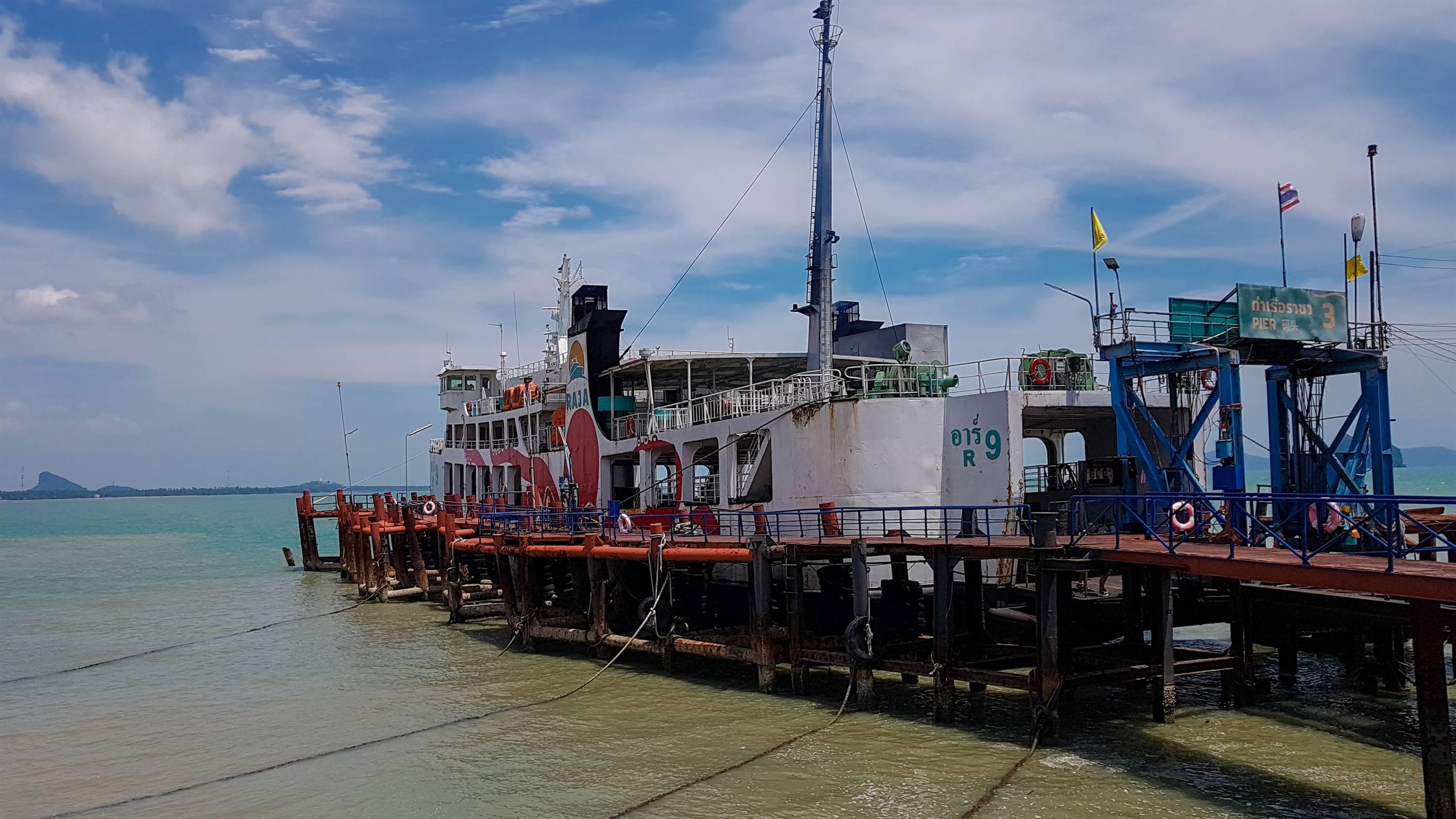 Rajat Ferry Koh Phangan Thaïlande