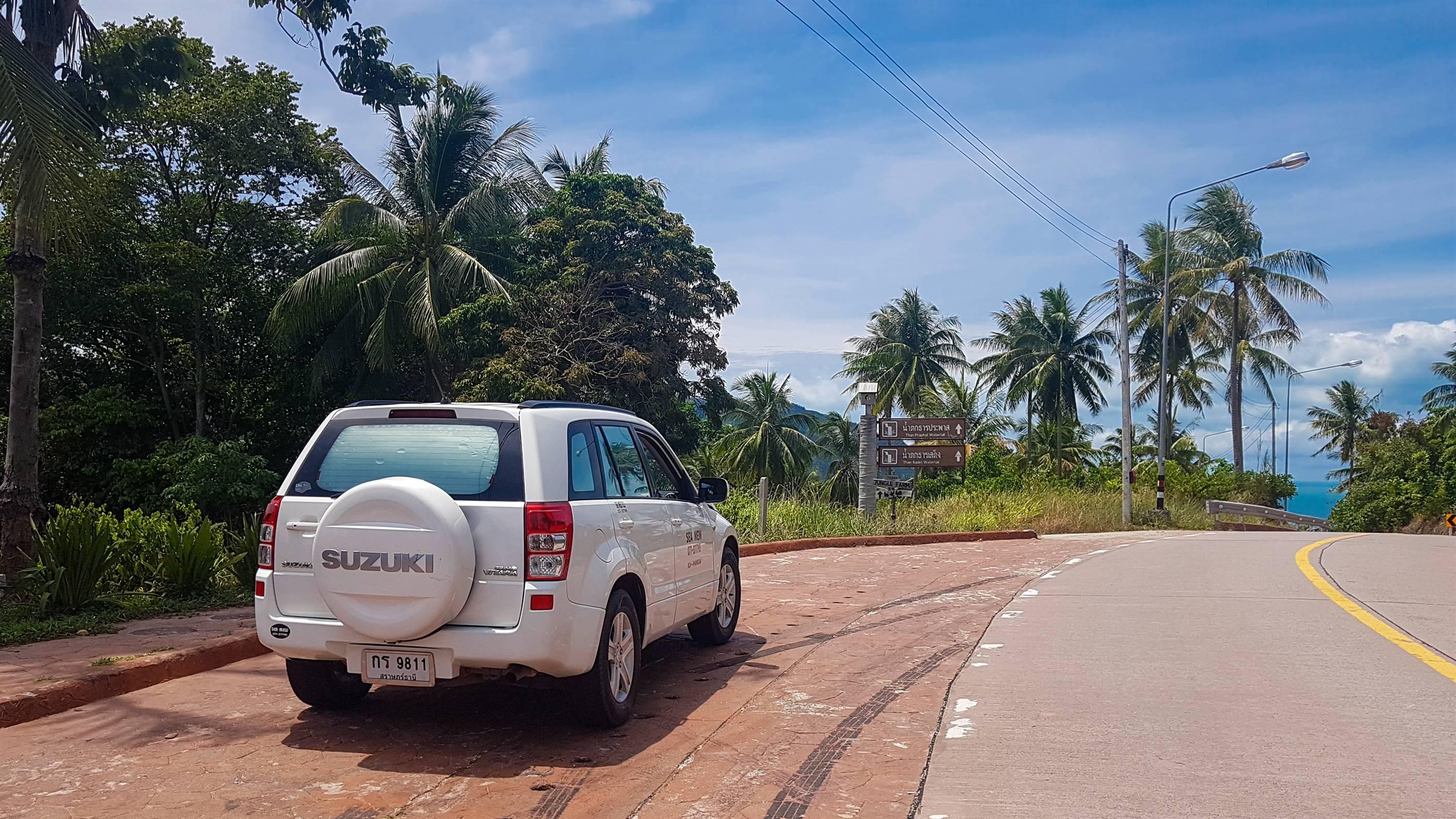 location de voiture Koh Phangan, Thaïlande