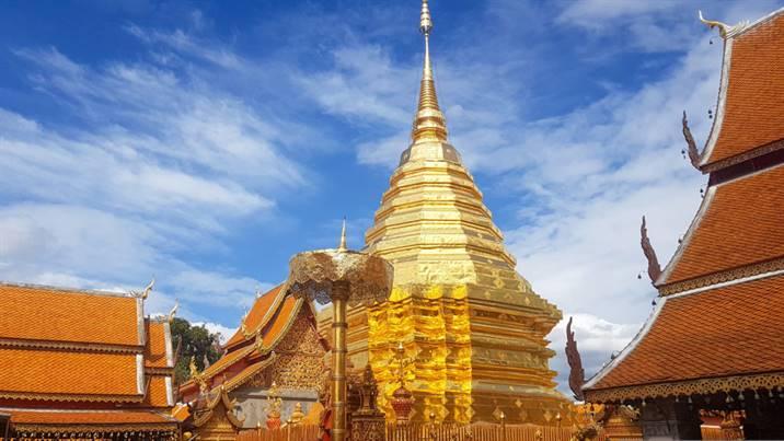 Temples Thaïlande