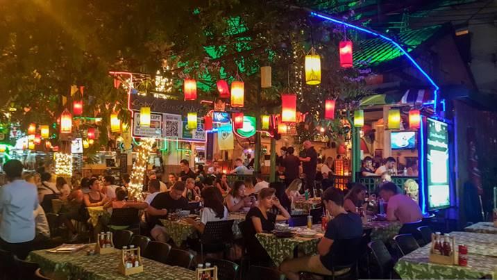 Rambuttri Alley, Bangkok, Thaïlande