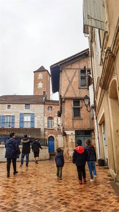 quartier médiéval d'Agen