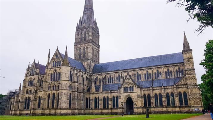 Cathédrale de Salisbury Angleterre