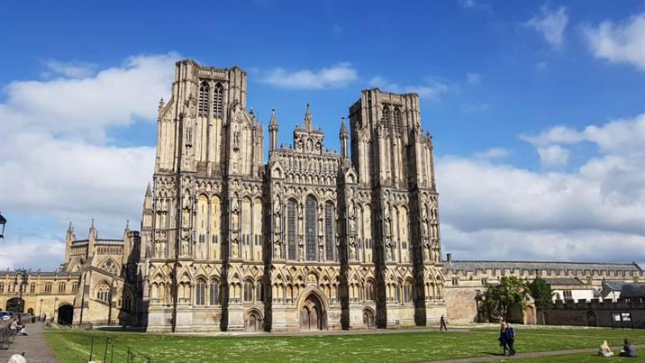 Cathédrale de Wells Angleterre