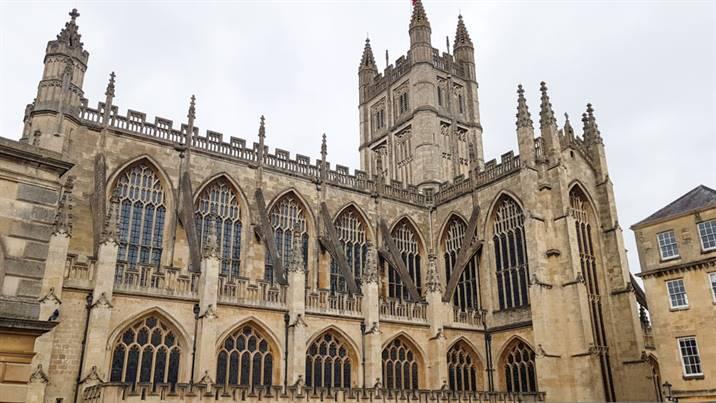 Abbaye de Bath Angleterre