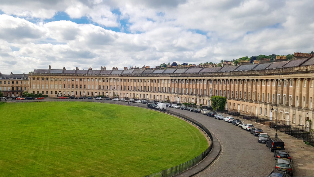 The Royal Crescent, Bath Angleterre