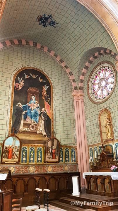 L'église de Lamarque