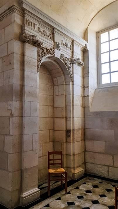 La chambre royale du Phare de Cordouan