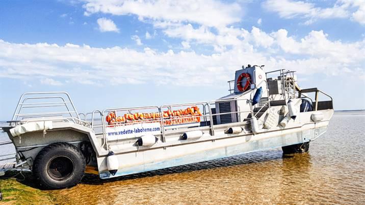 Barge Amphibie du phare de Cordouan