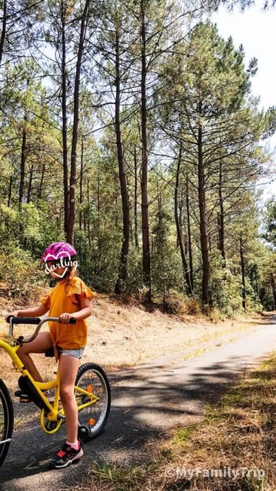 Faire du vélo à Hourtin