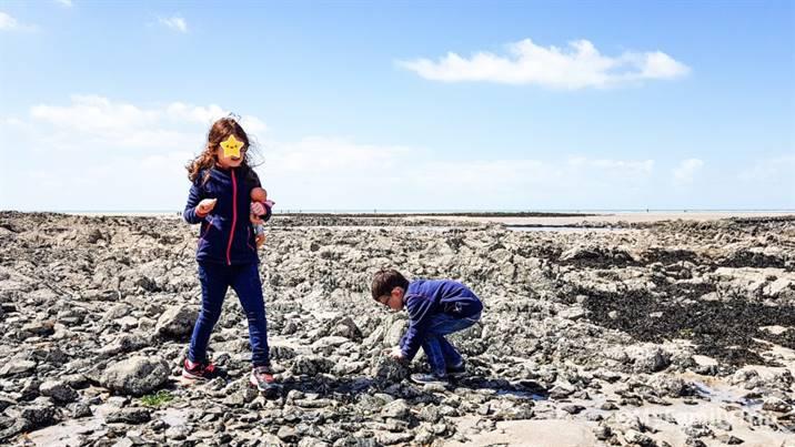 Découvrir la Manche avec les enfants