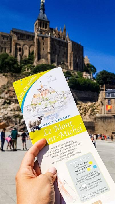 Jeux de piste au Mont-Saint-Michel