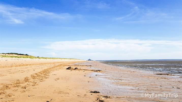 La plage de Draguey Ronthon