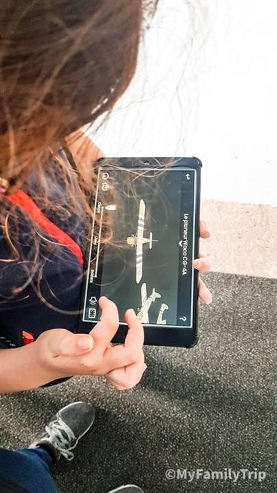 Tablette du musée airborne