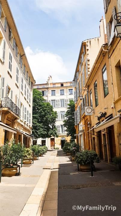 Week-end en famille à Aix-en-Provence