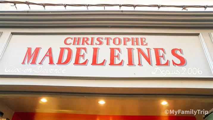 Madeleine de Christophe à Aix-en-Provence